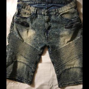 Rocawear Jean Shorts Skinny Short Size 40